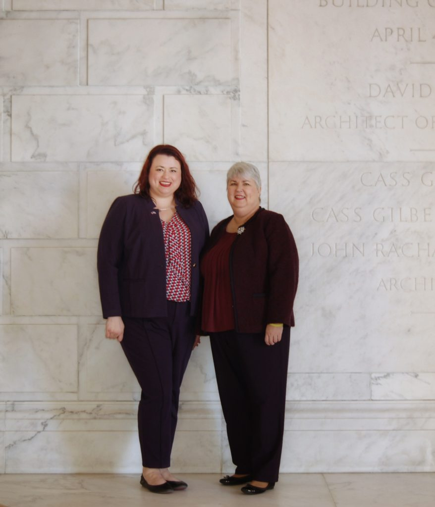 Jennifer Bays Beinart and Donna J. Bays at US Supreme Court